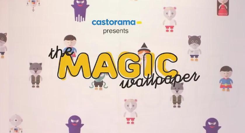 Мережа гіпермаркетів випустила перші шпалери, які розповідають казки 444