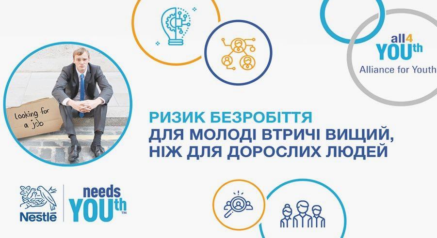 Nestlé оголосила про початок проекту з працевлаштування молоді «Альянс заради молоді» 144